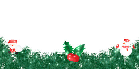 Christmas Santa background Illustration