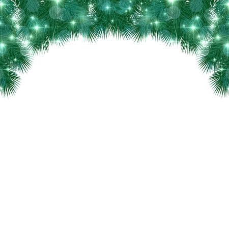fir: Christmas fir tree background