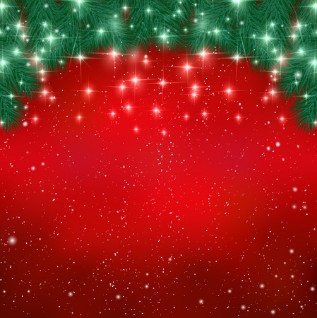 christmas background: Christmas snow background