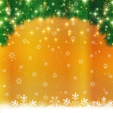 christmas snow: Christmas snow background