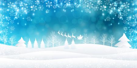 Weihnachten Schnee Hintergrund Standard-Bild - 45479982