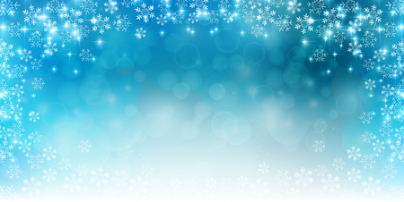 Snow Christmas background Illustration