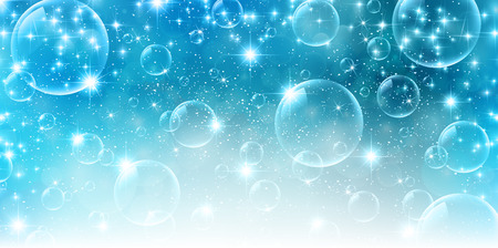 泡空の背景