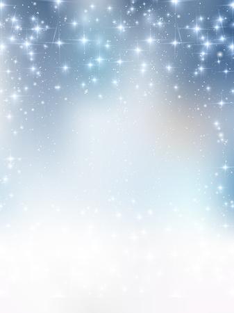 눈 크리스마스 배경