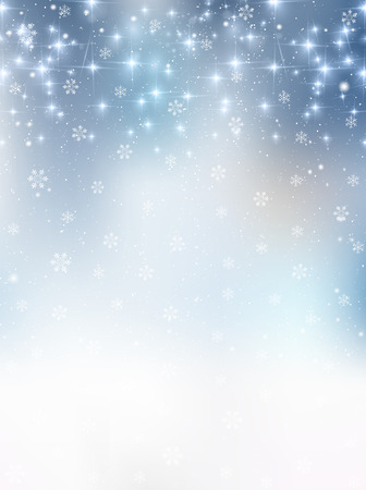 Snow Christmas background 版權商用圖片 - 45480051