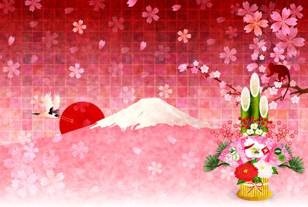 sho chiku bai: Monkey Fuji Kadomatsu
