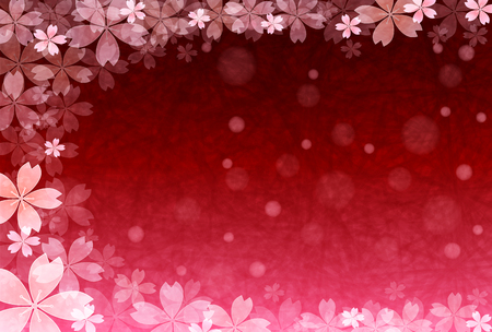 new years: New Years card cherry background Illustration