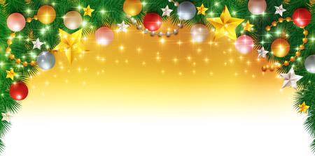 fir tree: Christmas fir tree background