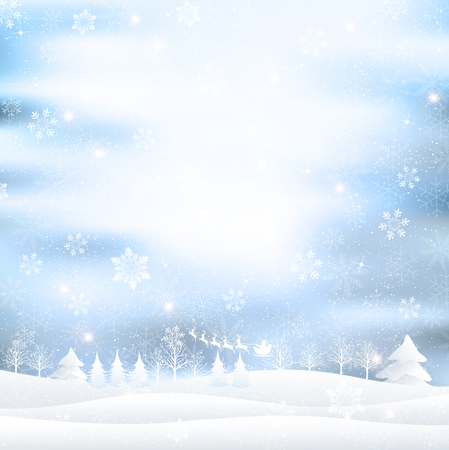 Christmas Santa background 版權商用圖片 - 45839601
