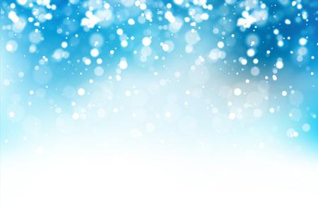 Snow light background