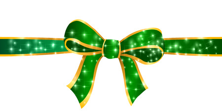 christmas ribbon: Christmas ribbon background