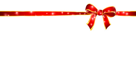 light red: Christmas ribbon background