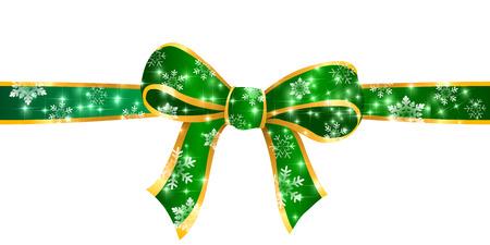 ribbon: Christmas ribbon background