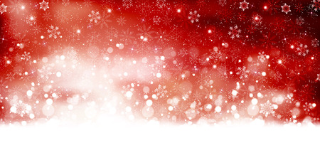 Snow Christmas background Stock Illustratie