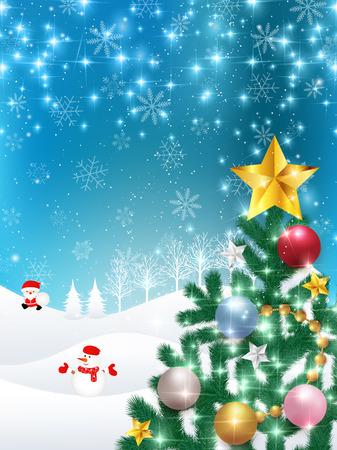 christmas snow: Christmas snow Santa