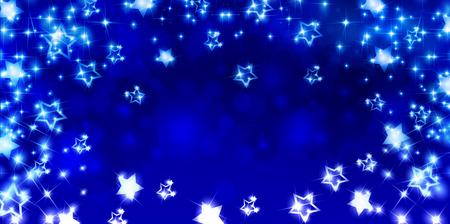 별: Star snow background