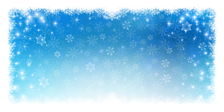 Snow Christmas background 版權商用圖片 - 46289531