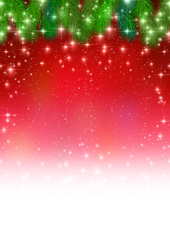 Christmas fir tree background 版權商用圖片 - 46324781