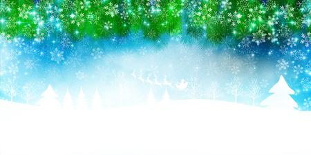 fir trees: Trees of Christmas Santa fir