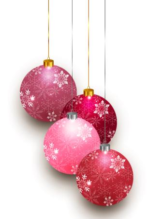 Christmas snow decoration 向量圖像