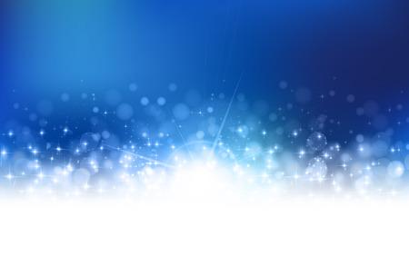 background christmas: Snow Christmas background Illustration