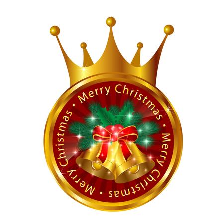 corona navidad: Los árboles de abeto campana corona de Navidad
