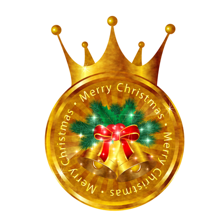 christmas crown: Los �rboles de abeto campana corona de Navidad