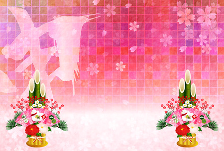 sho: Monkey greeting cards cherry background