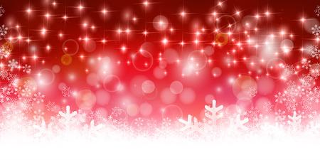 Sneeuw Kerst winter achtergrond Stock Illustratie