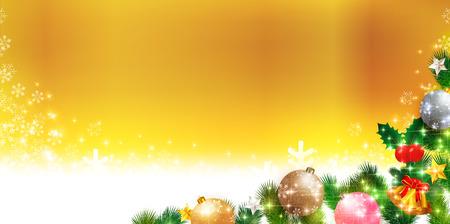 christmas snow: Christmas snow Christmas tree background
