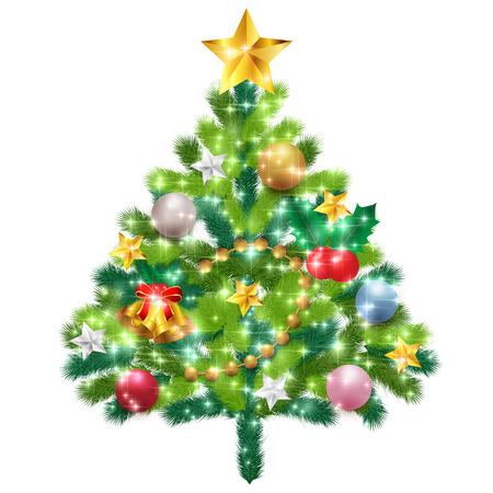 fir tree: Christmas Christmas fir tree icon