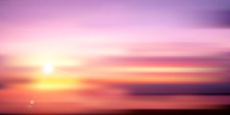 słońce: Sunrise sun landscape background
