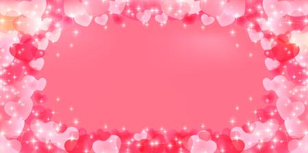 Corazón de San Valentín fondo claro Foto de archivo - 48141786