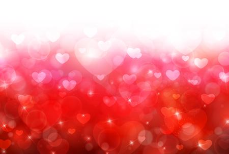 el coraz�n de san valent�n: Valentine Heart cute background Vectores