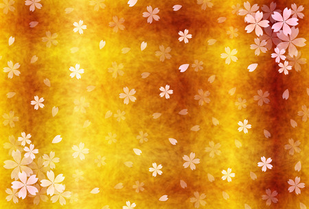 japanese paper: Japanese paper greeting cards cherry background