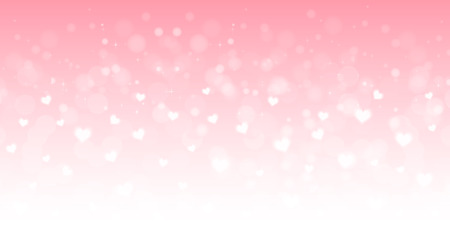 Valentine Heart light background