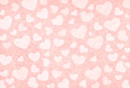Valentine Heart pink background