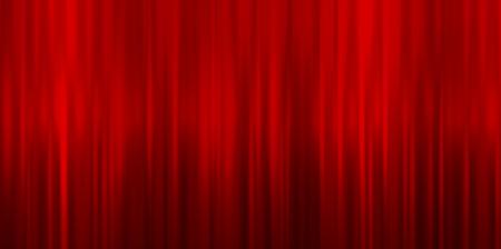 fondo rojo: Valentine cortina de fondo rojo Vectores