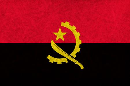 angola: Angola national flag country flag