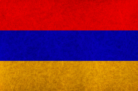 armenia: Armenia national flag country flag Illustration