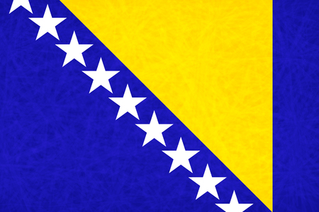 bosnia: Bosnia national flag country flag