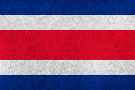 costa rica: Costa Rica national flag country flag