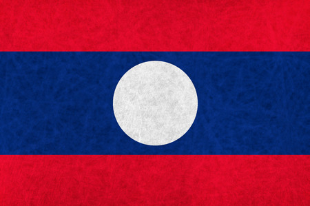 laos: Laos national flag country flag