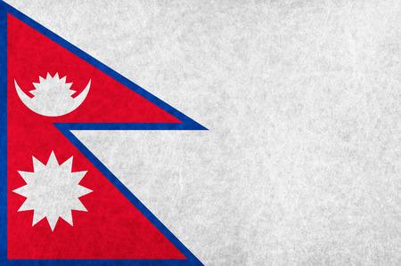 ネパール国旗国旗  イラスト・ベクター素材