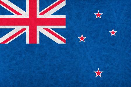 zealand: new zealand national flag country flag Illustration
