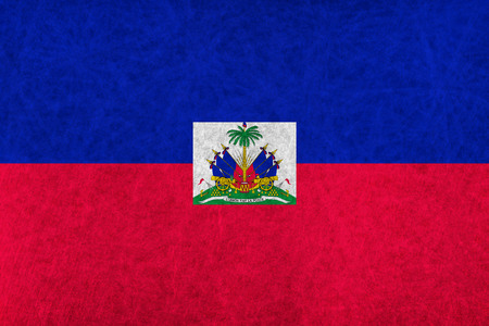 haiti: Haiti national flag country flag Illustration