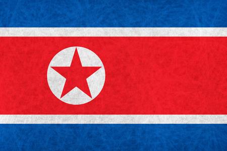 North Korea national flag country flag