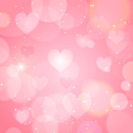 Valentine Heart light background