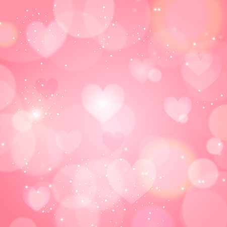 Valentine Heart light background 版權商用圖片 - 49543154