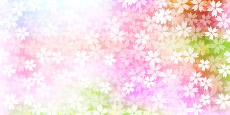 arbol de cerezo: Primavera de fondo de flor de cerezo Vectores